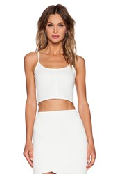 Donna Mizani Quilted Cami White