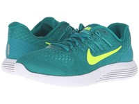 Nike Lunarglide 8 Rio Teal Volt Clear Jade Mid Turquoise Women's Running Shoes Blue