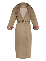 Preen Corey Cotton Twill Trench Coat