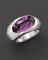 Fifth Season By Roberto Coin Sterling Silver Capri Plus Amethyst Ring No Color