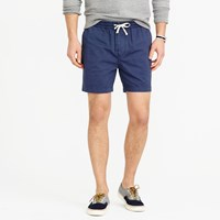 J.Crew Knit Dock Short In Garment Dyed Cotton