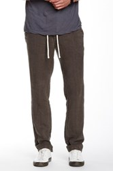 James Perse Utility Linen Pant Gray