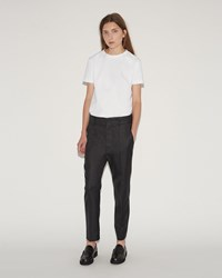 Sofie D'hoore Prior Wool Twill Trousers Grey