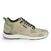 Gourmet Men's 35 Lite Camo Lx Trainers Camo White Green
