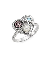 Effy Pink Sapphire And Sterling Silver Ring