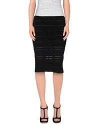 Genny Skirts Knee Length Skirts Women Black