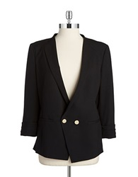 Ivanka Trump Double Button Blazer Black