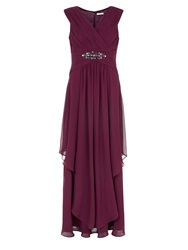 Kaliko Embellished Maxi Dark Purple
