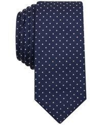 Penguin Men's Springton Dot Tie Navy