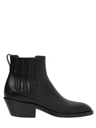 Givenchy Cropped Leather Chelsea Boots