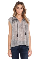 Ulla Johnson Tilda Top Gray