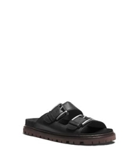 Michael Kors Graham Leather Sandal Black