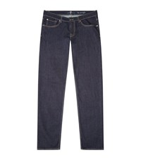 7 For All Mankind The Straight Jeans Male Dark Blue