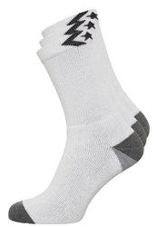 Converse Basic Crew 3 Pack Socks White
