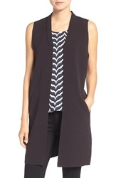 Trouve Women's Raw Edge Long Vest