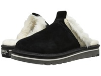 Sorel The Newbie Slipper Black Women's Shoes