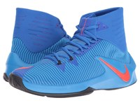 Nike Zoom Clear Out Hyper Cobalt Photo Blue Black Bright Crimson Men's Basketball Shoes