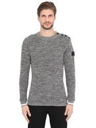 G Star Crew Neck Cotton Knit