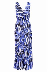 Indulgence Maxi Dress Blue