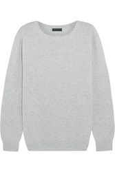 J.Crew Collection Cashmere Sweater Light Gray