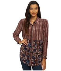 Tolani Evelyn Top Tribal Women's Blouse Multi