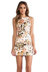 Ladakh Party Monster Cut Out Dress Peach