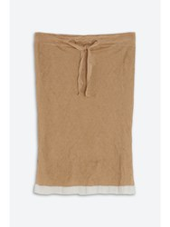 Barbara Casasola Lygia Skirt Brown