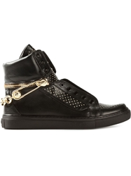 Versus Chain Studded Sneakers