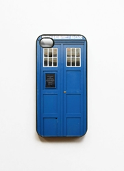 Tardis Call Box Blue Phone Booth Iphone 4 Case By Onyourcasestore