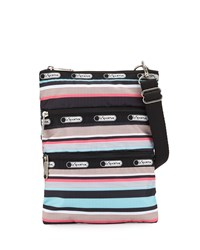Le Sport Sac Lesportsac Kasey Striped Crossbody Bag Tennis Stripe