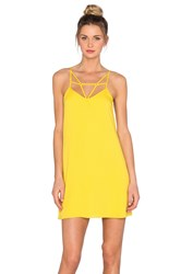 Oh Boy Vestido Vies Tank Dress Yellow