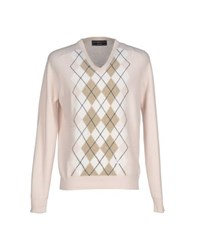 Pringle 1815 Knitwear Jumpers Men Pastel Pink