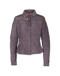 Crust Down Jackets Mauve