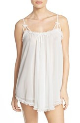 Women's Betsey Johnson Babydoll Chemise Pearl