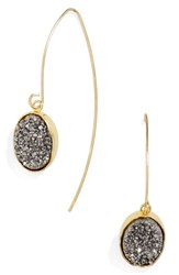 Baublebar Women's 'Nightfall' Threader Drop Earrings Grey