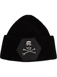 Philipp Plein 'Generation' Beanie Black