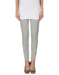 Gran Sasso Trousers Leggings Women Light Grey