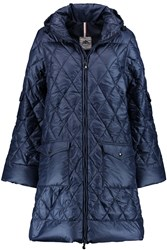 Pyrenex Replic Quilted Shell Down Coat Blue