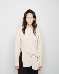 3.1 Phillip Lim Side Knot Sweater Ivory