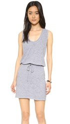 Lanston Twist Back Racerback Dress Heather