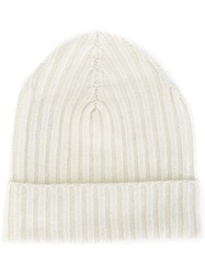 Warm Me 'Eric' Beanie Hat White