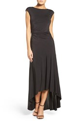 Ali And Jay Women's High Low Jersey Gown
