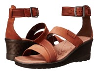 Keen Skyline Ankle Wedge Tortoise Shell Women's Wedge Shoes Brown