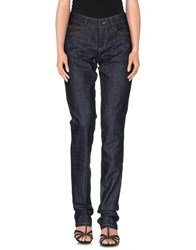 Class Roberto Cavalli Denim Denim Trousers Women Blue