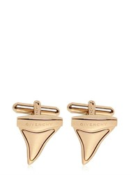 Givenchy Brass Shark Teeth Cufflinks