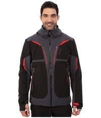 Obermeyer Spartan Jacket Ebony Men's Coat Black