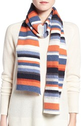 Barbour Women's 'Briggs' Stripe Lambswool Scarf