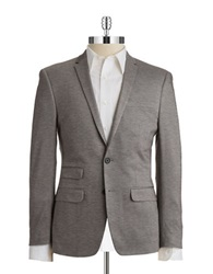 William Rast 2 Button Blazer Grey