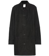 Wood Wood Adora Suede Coat Black