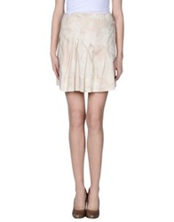 Michelle Windheuser Knee Length Skirts Ivory